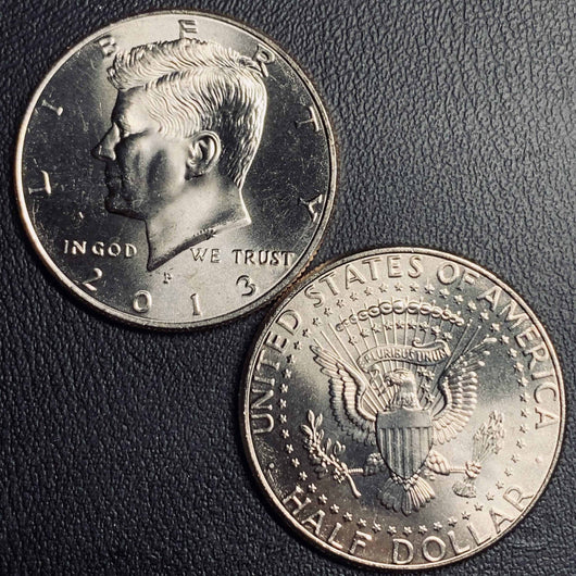 2013 P&D Kennedy Half Dollar