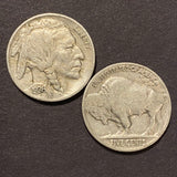 Buffalo Indian Head Nickel 1913-1938 Old Native Chief