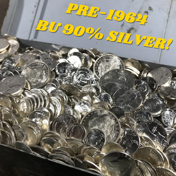 1 oz UNCIRCULATED 90% Silver US Coins Bullion Pre-1964