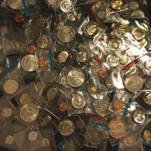 Proof & Uncirculated Coin Lot