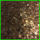 1x Pound LB Foreign Coins Unsearched World Lot