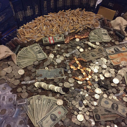 Estate Lot Old US Coins & Currency Silver Gold (Mid-Grade Level)