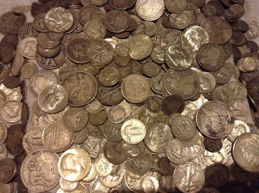 1 Oz Ounce 90 Premium Silver Us Coins Pre 1964 Bullion Old Estate Coins
