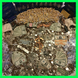 Estate Lot Old US Coins & Currency Silver Gold Gems (Mid-Grade Level)