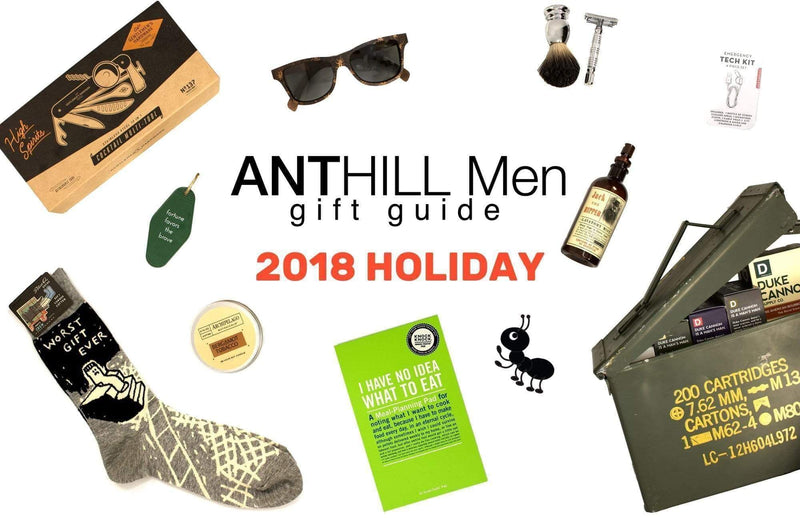 Holiday Gift Guide for ANTHILL Men
