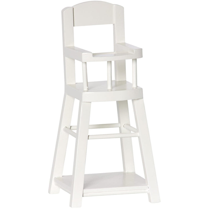 High Chair Micro White - ANTHILL shopNplay