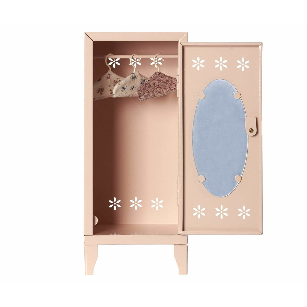 Locker With 3 Hangers Powder - ANTHILL shopNplay