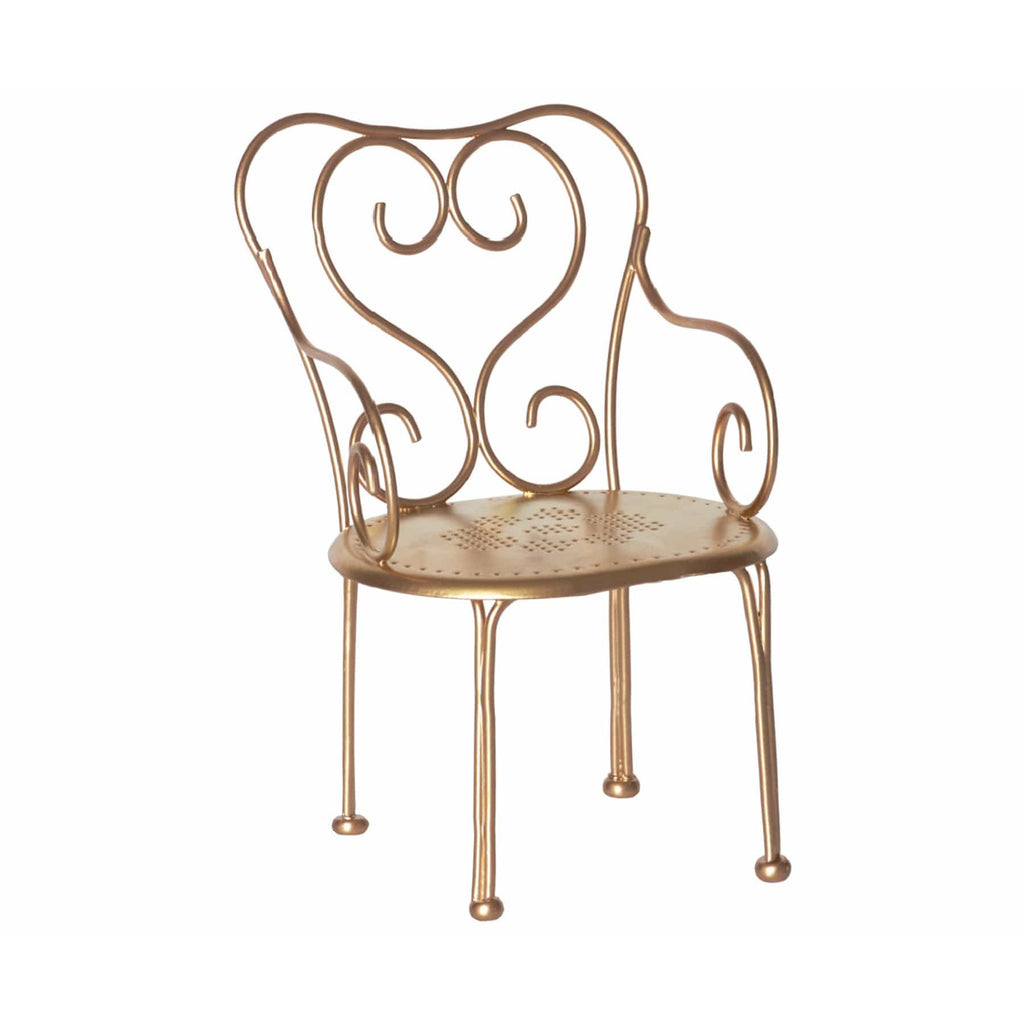 Gold Vintage Chair - ANTHILL shopNplay