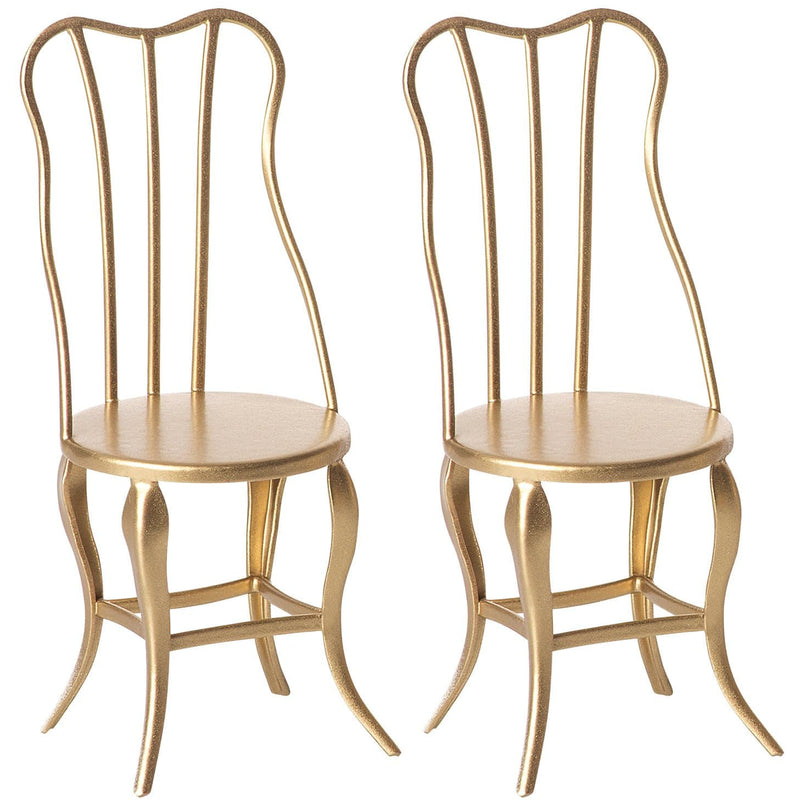 Vintage Chair Micro Gold 2/Pack - ANTHILL shopNplay