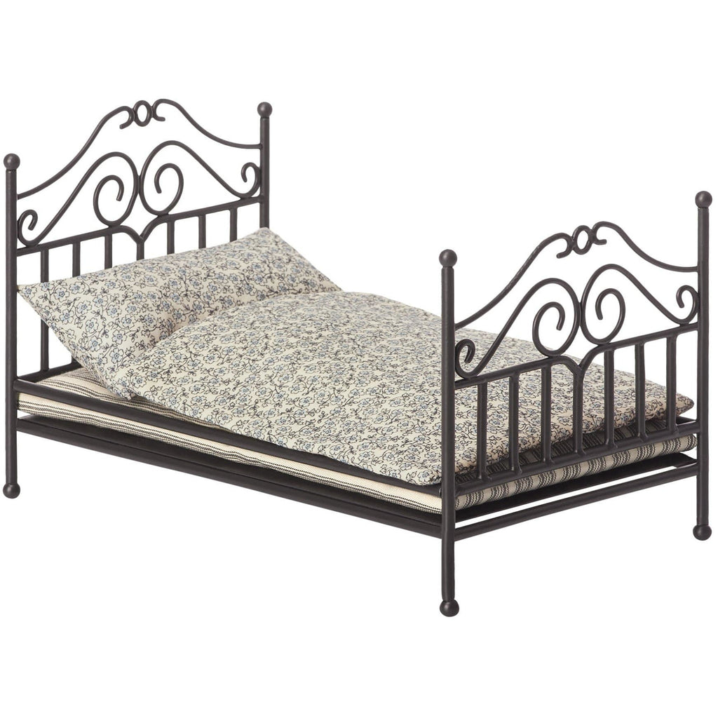 Vintage Bed Micro Anthracite