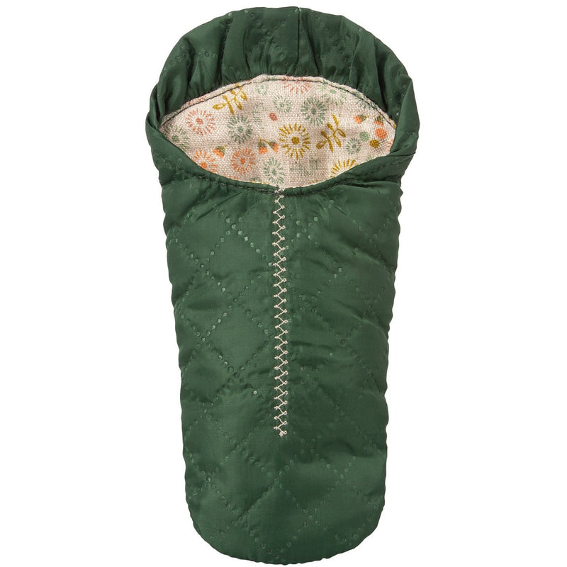 Sleeping Bag Small Mouse Green - ANTHILL shopNplay
