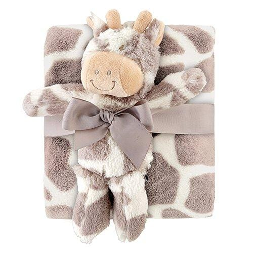 Blanket/Toy Set Giraffe