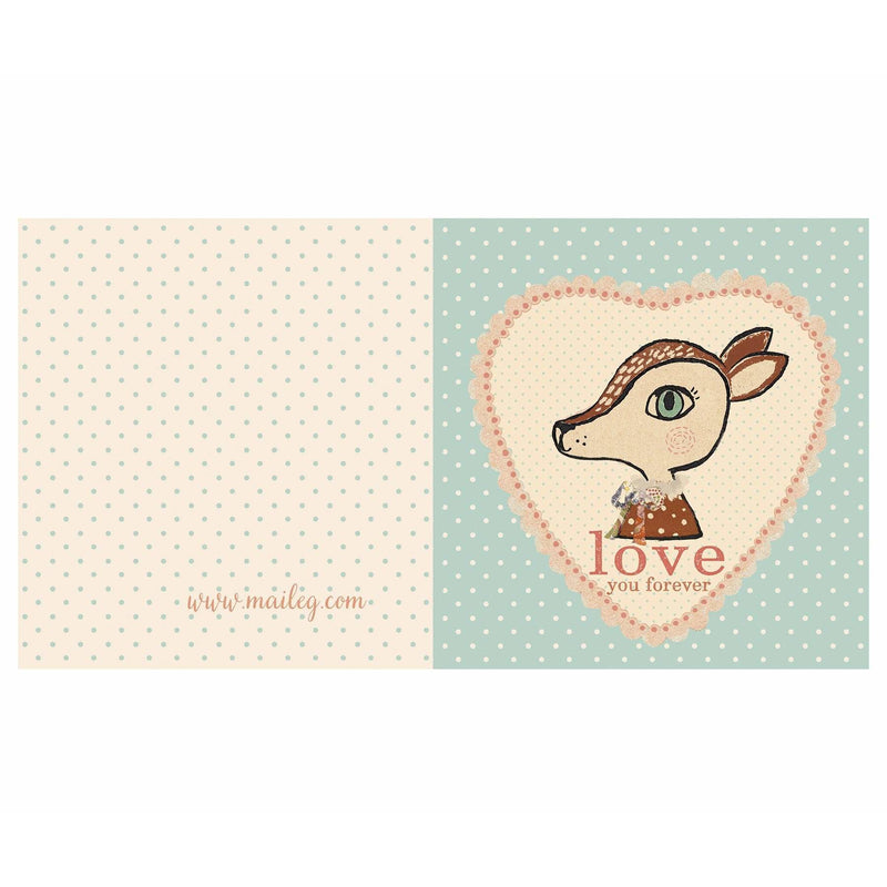 Bambi Blue Double Card
