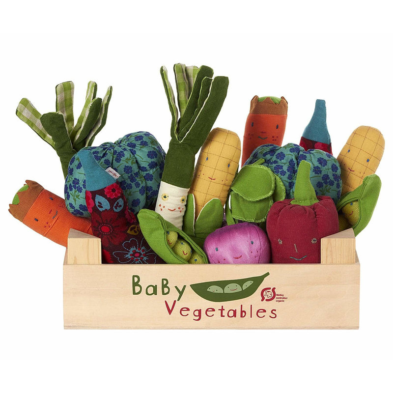 Baby Vegetables Eggplant Rattle
