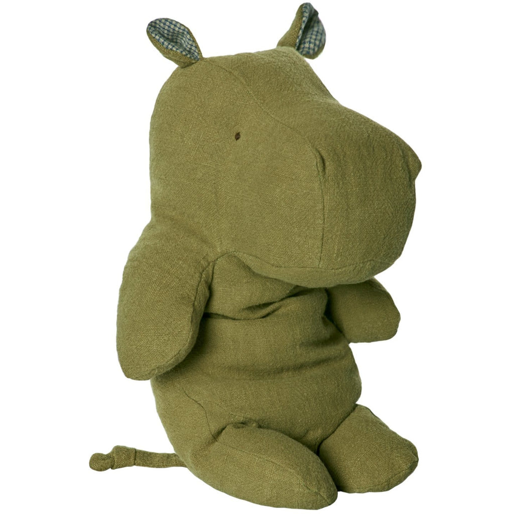 Safari Friends Large Hippo Green - ANTHILL shopNplay