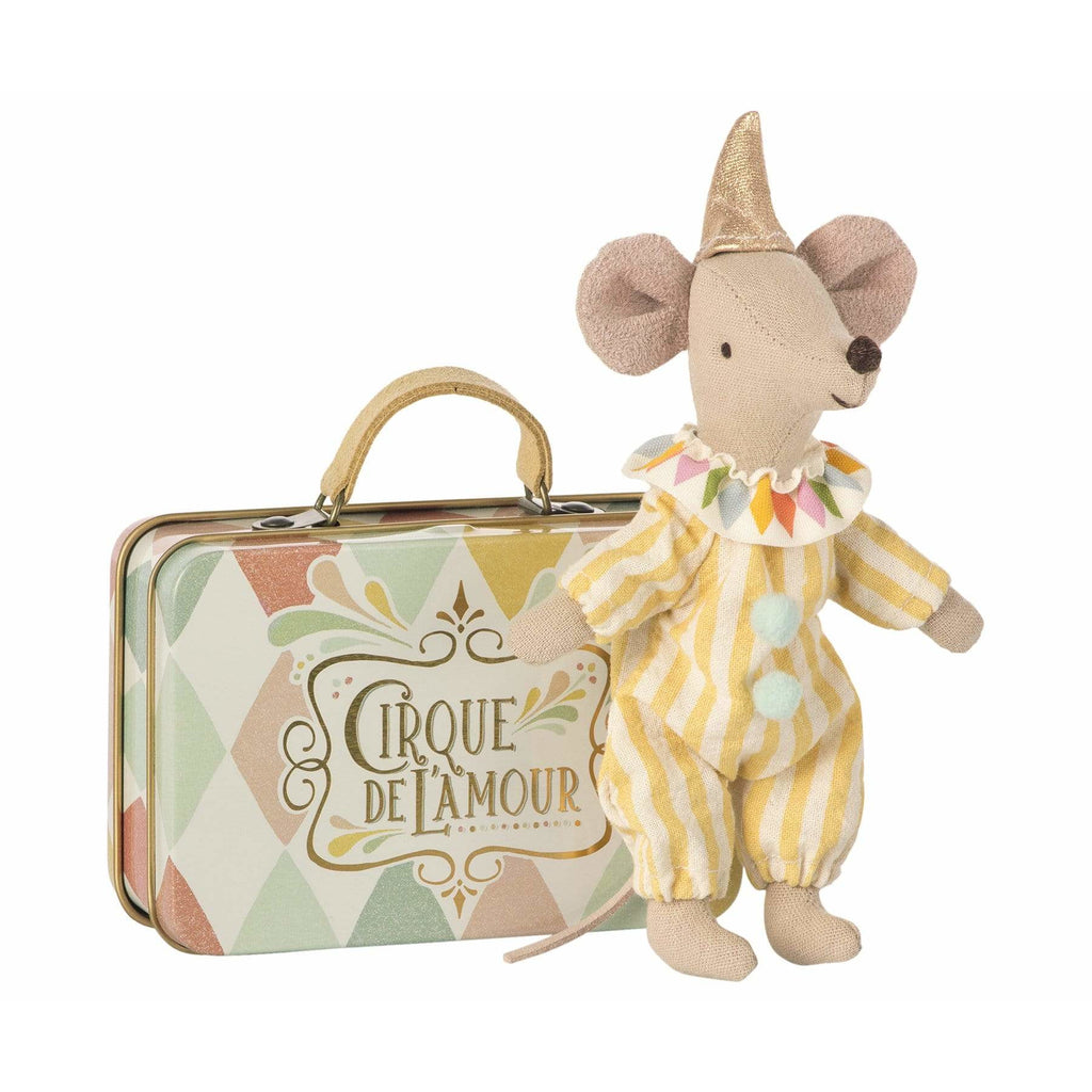 Clown Mouse In Suitcase - ANTHILL shopNplay