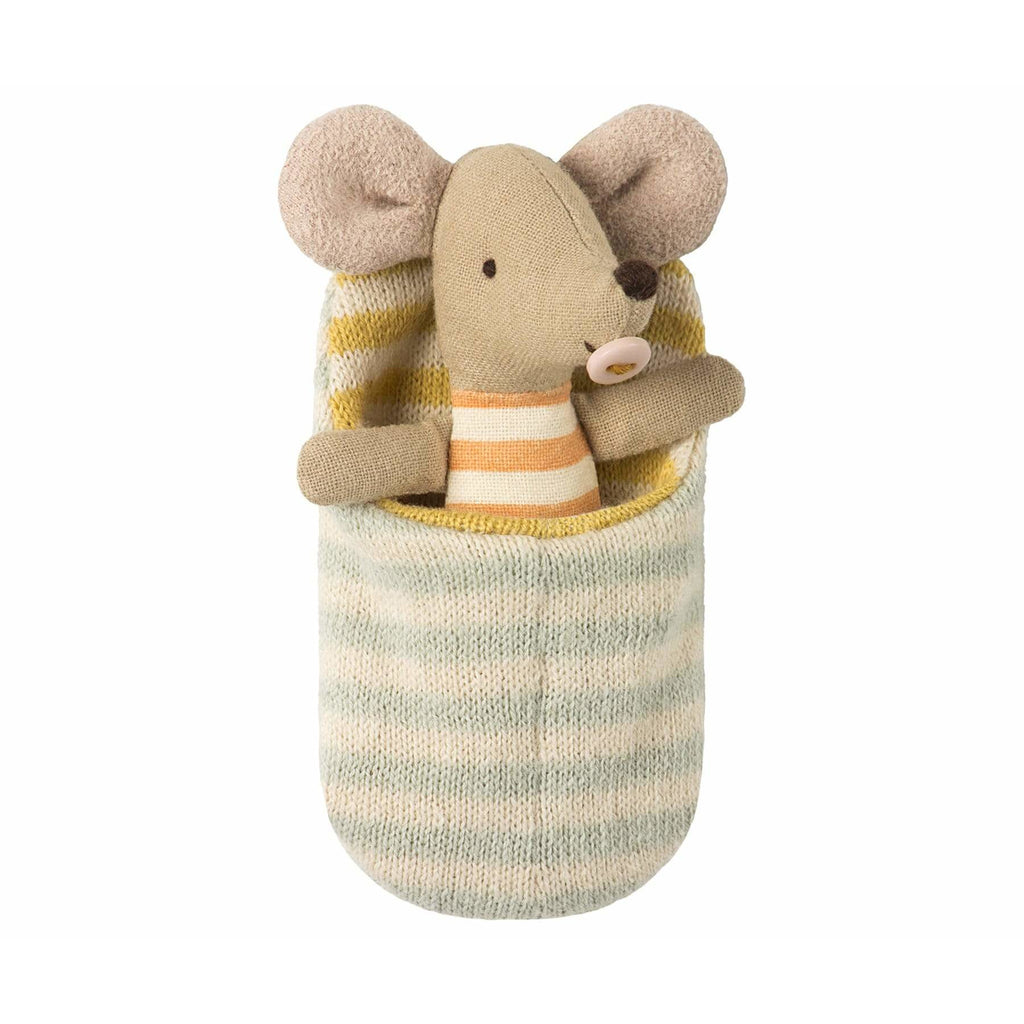 Baby Mouse In Sleeping Bag - ANTHILL shopNplay