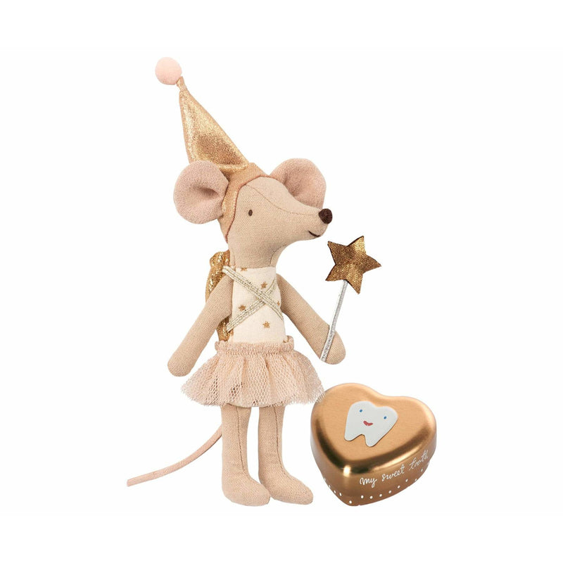 Tooth Fairy Big Sister Mouse With Metal Box - ANTHILL shopNplay