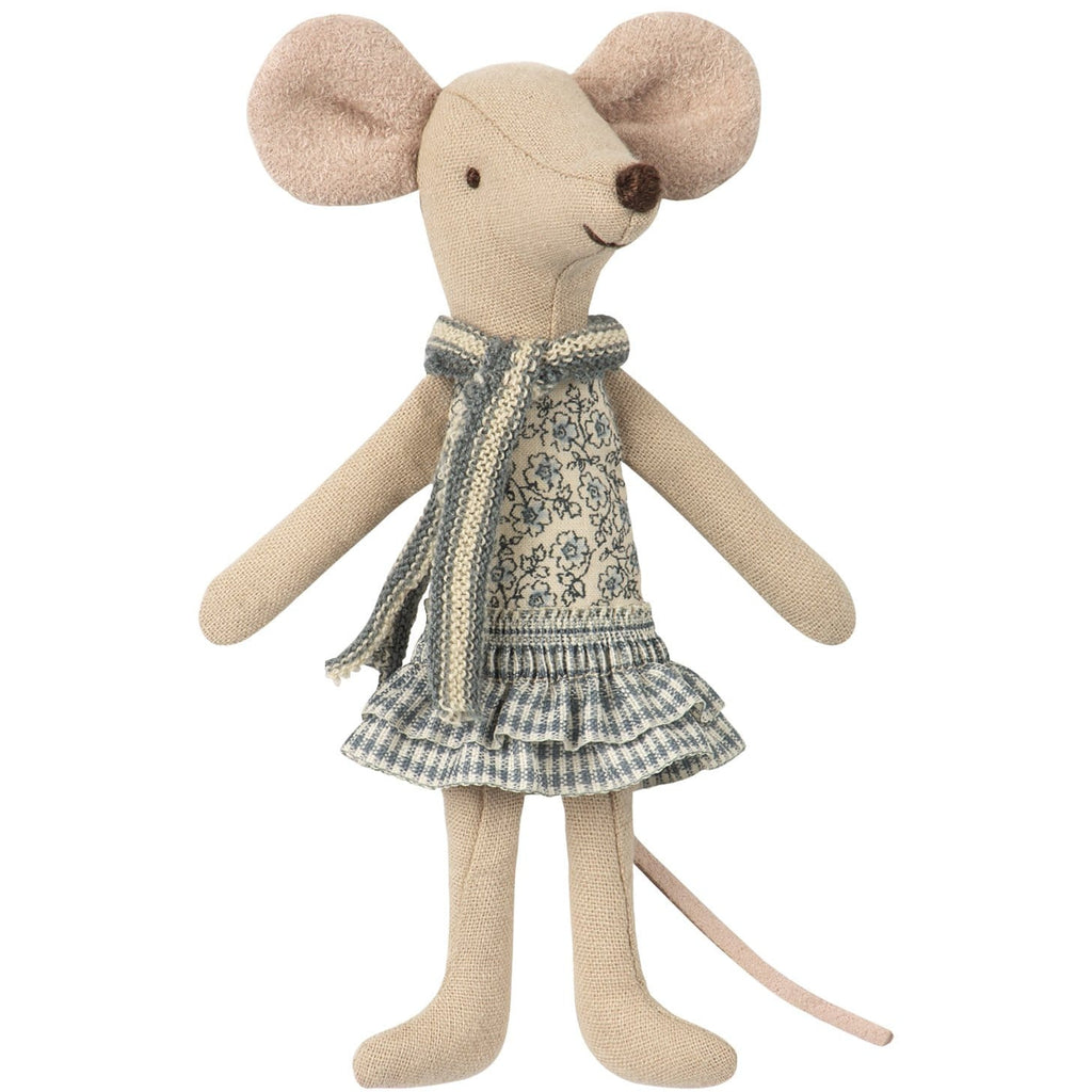 Winter Mouse Big Sister In Bag - ANTHILL shopNplay