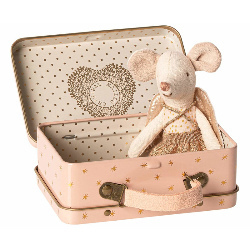 Guardian Angel In Suitcase Little Sister Mouse - ANTHILL shopNplay