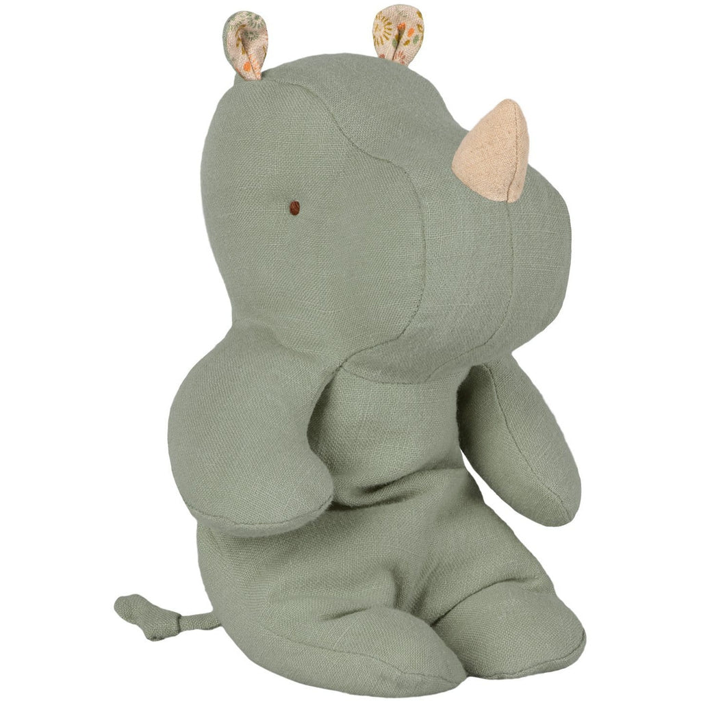 Safari Friends Small Rhino Dusty Green - ANTHILL shopNplay