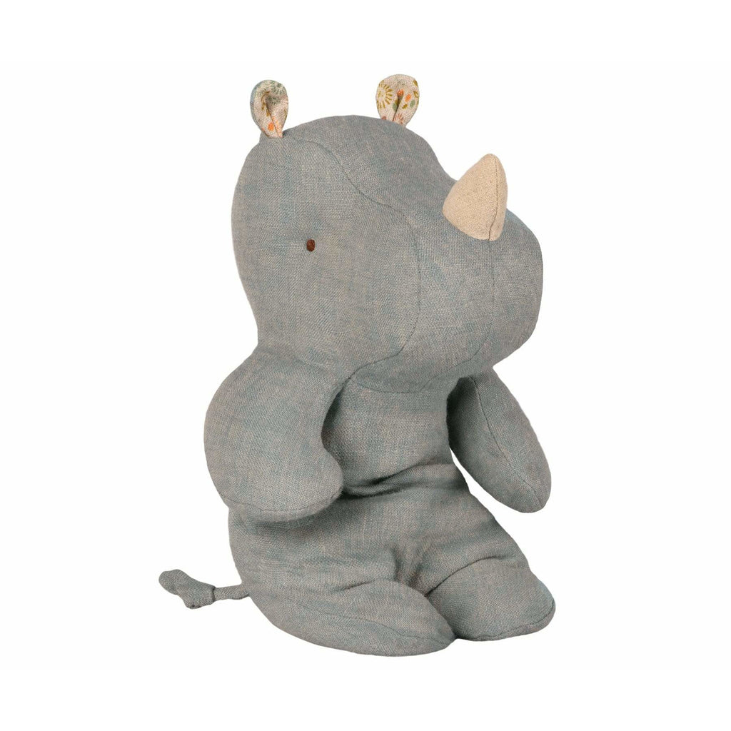 Safari Friends Small Rhino Dove Blue - ANTHILL shopNplay