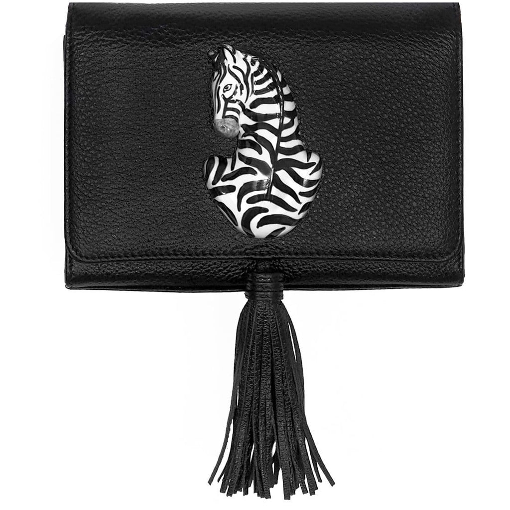 Black Madame Bag - Zebra