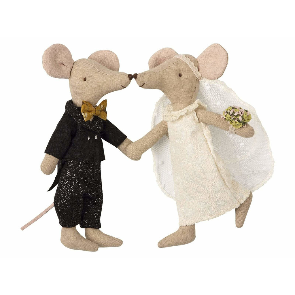Wedding Mice Couple In Box - ANTHILL shopNplay