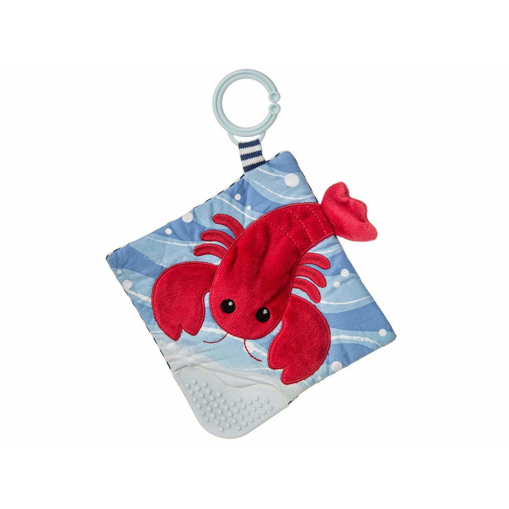 Lobbie Lobster Crinkle Teether – 6×6″