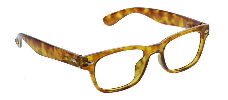 Clark Focus - Honey Tortoise +0.00