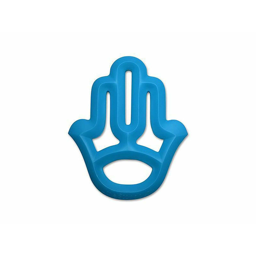 WS Hand Blue 100% Silicone Teether - ANTHILL shopNplay
