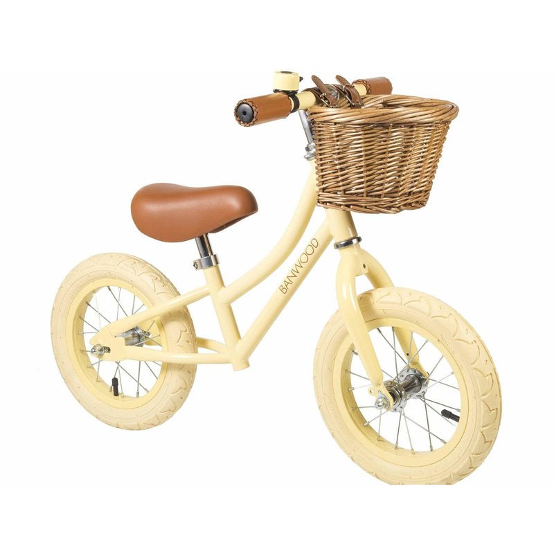 "BALANCE BIKE BANWOOD FIRST GO 12""-VANILLA - ANTHILL shopNplay"