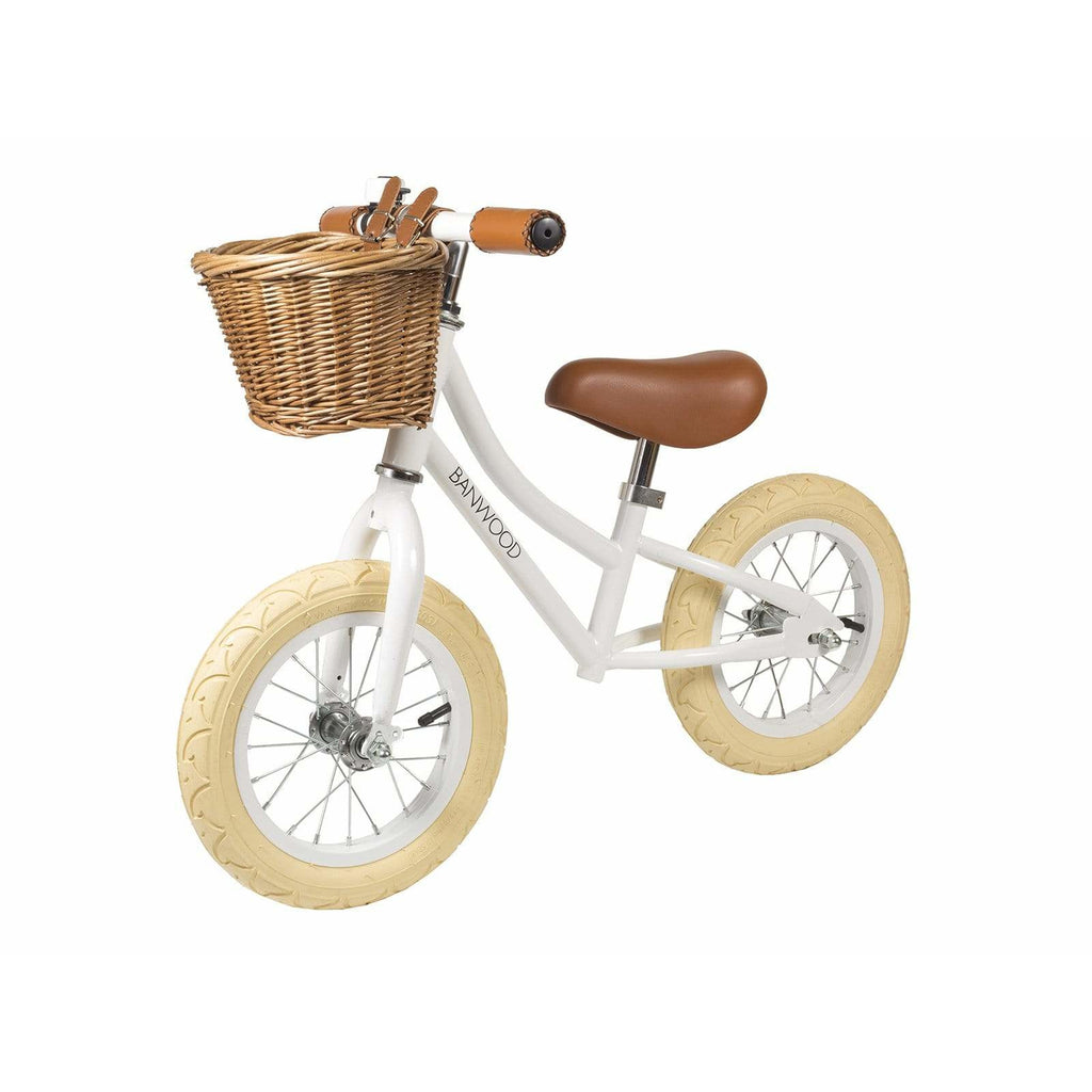 "BALANCE BIKE BANWOOD FIRST GO 12""-WHITE"