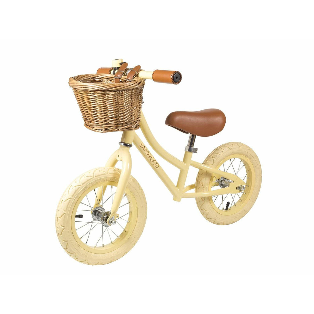 "BALANCE BIKE BANWOOD FIRST GO 12""-VANILLA"
