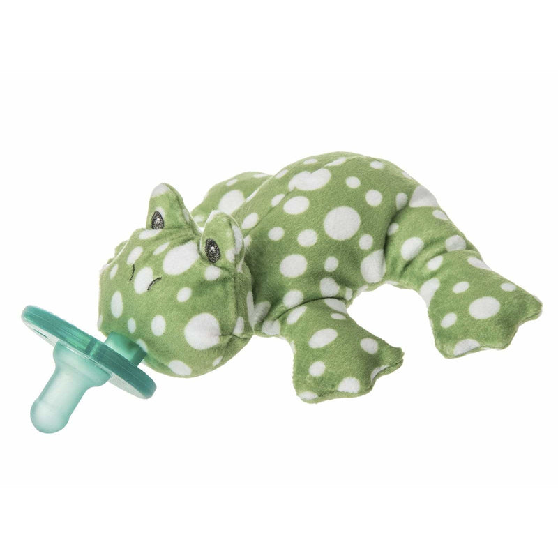 Mary Meyer WubbaNub Infant Soothie Pacifier with Plush Toy ~ Itsy Glitzy Swan