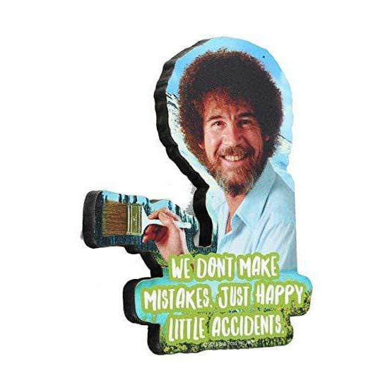 Bob Ross - Little Accidents Funky Chunky Magnet - ANTHILL shopNplay