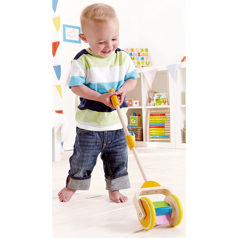 Rainbow Wooden Push and Pull Toddler Walking Toy - ANTHILL shopNplay