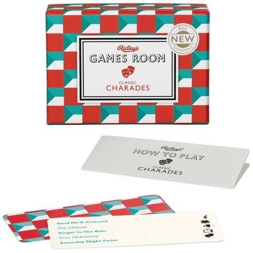 "Games Room ""Classic Charades"" Game Cards"