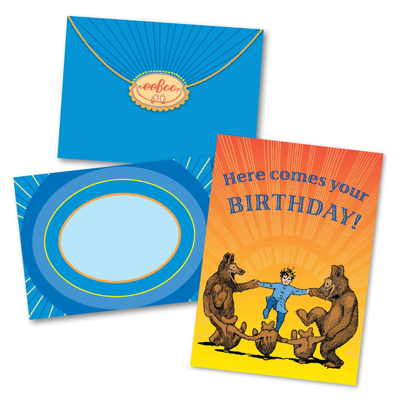 Here Comes Your Birthday Card