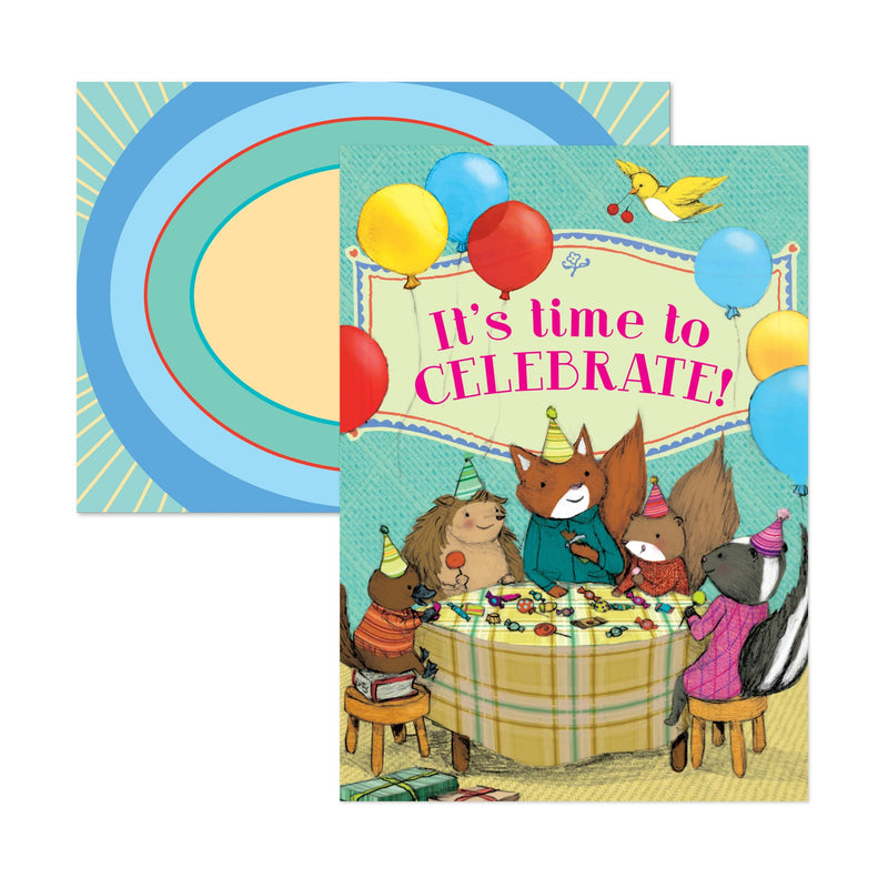 Candy Celebration Birthday Card