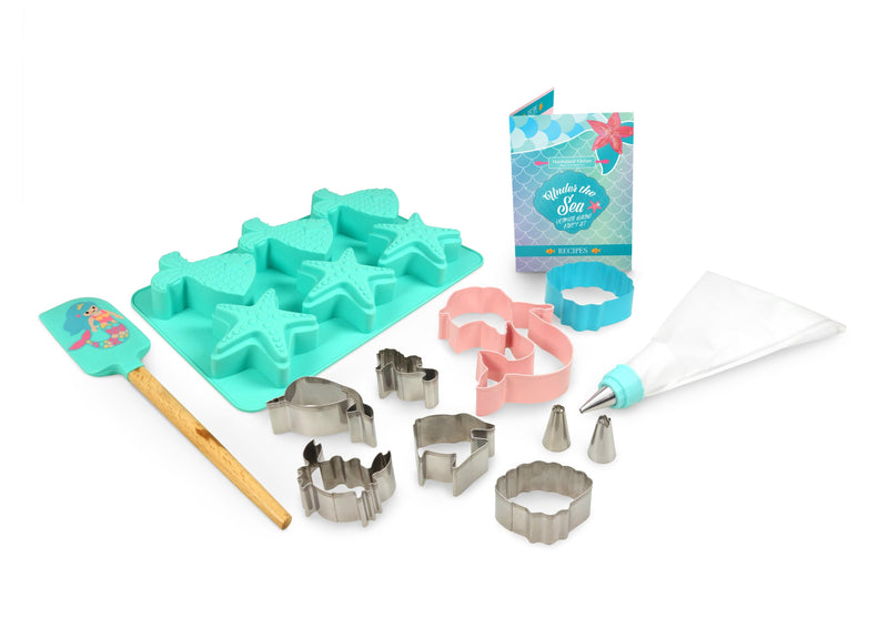 Ultimate Under The Sea Mermaid Baking Party Set