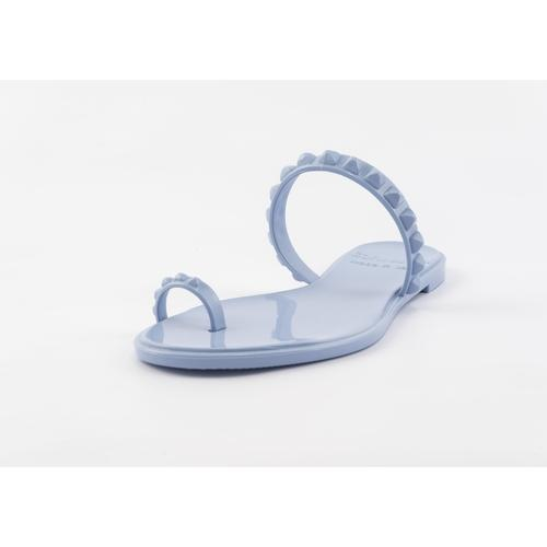 'Maria' Flat Sandals in Baby Blue - ANTHILL shopNplay
