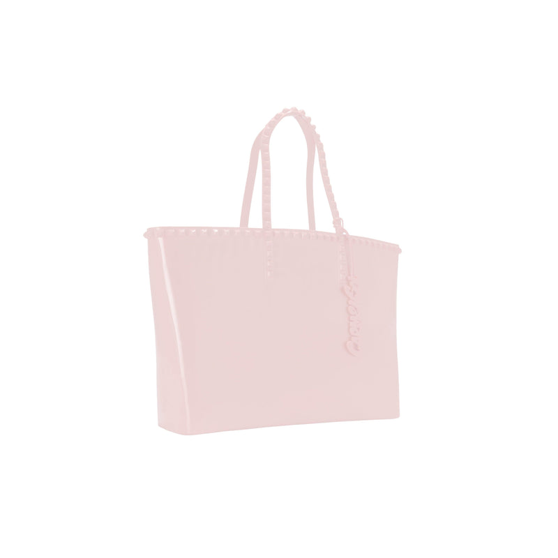 'Angelica' Large Tote in Baby Pink