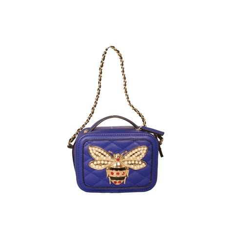 'Bumble Bee' Crossbody Handbag in Blue - ANTHILL shopNplay