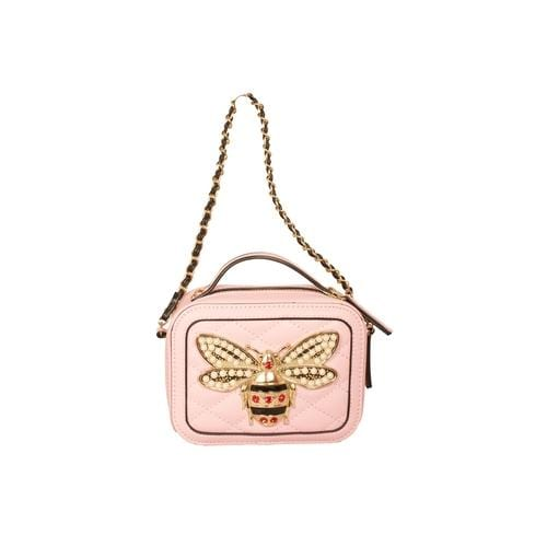 'Bumble Bee' Crossbody Handbag in Baby Pink - ANTHILL shopNplay