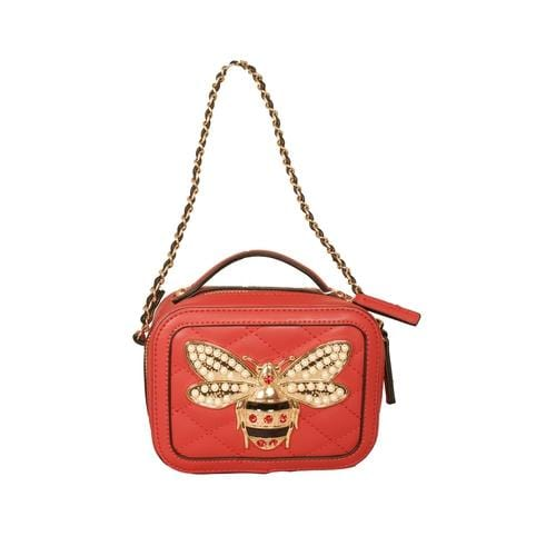 'Bumble Bee' Crossbody Handbag in Red - ANTHILL shopNplay