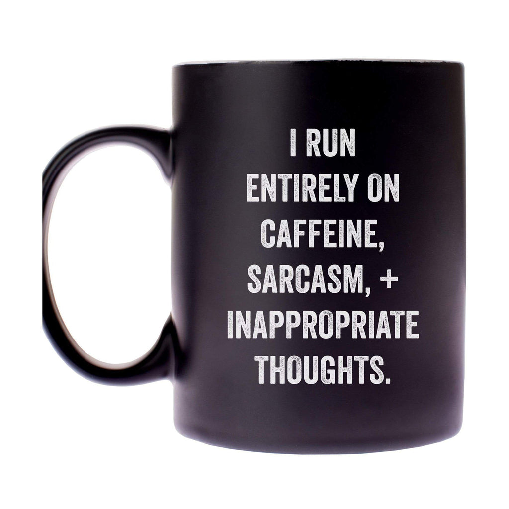 I Run Entirely On Caffine Mug
