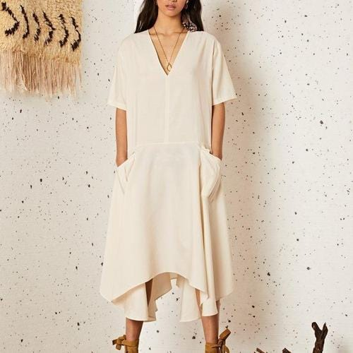 Sahara Cargo Midi Dress - ANTHILL shopNplay