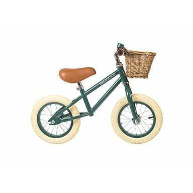 "BALANCE BIKE BANWOOD FIRST GO 12"" DARK GREEN"