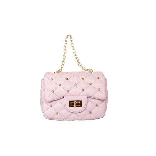 'Diva' Handbag with Studs in Lavender - ANTHILL shopNplay